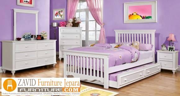 kamar-set-anak-putih-duco Perlengkapan Kamar Set Terbaru Model Minimalis Dan Ukir Harga Murah