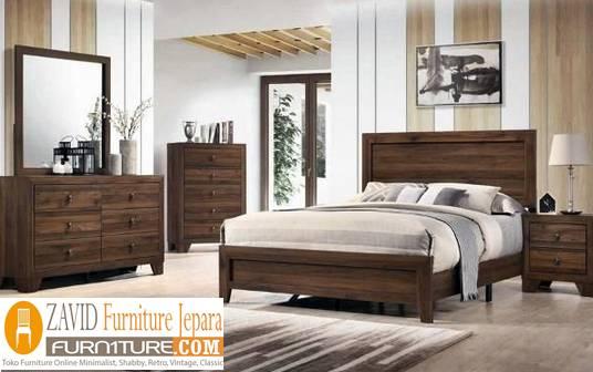 kamar-set-kayu-jati-baru Perlengkapan Kamar Set Terbaru Model Minimalis Dan Ukir Harga Murah