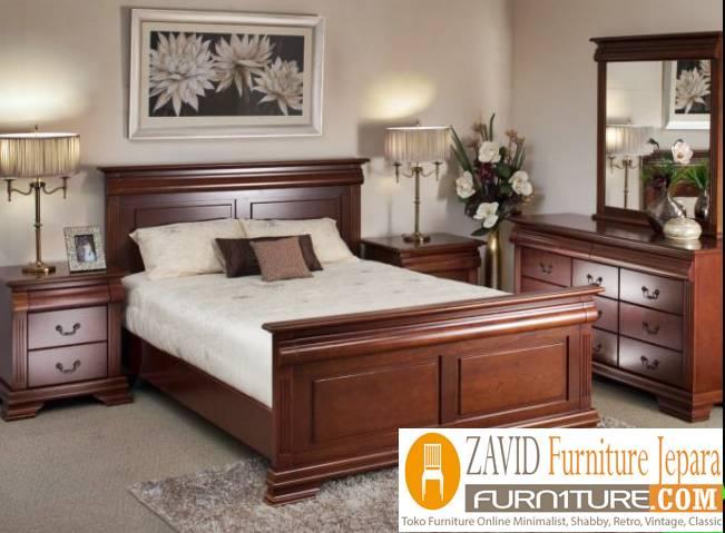 kamar-set-kayu-jati Perlengkapan Kamar Set Terbaru Model Minimalis Dan Ukir Harga Murah