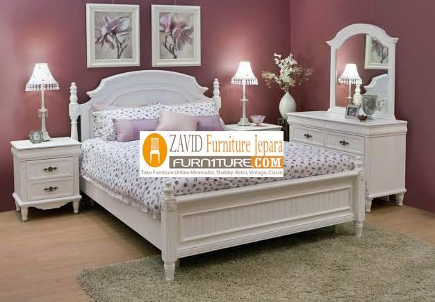 kamar-set-putih-duco-baru Perlengkapan Kamar Set Terbaru Model Minimalis Dan Ukir Harga Murah