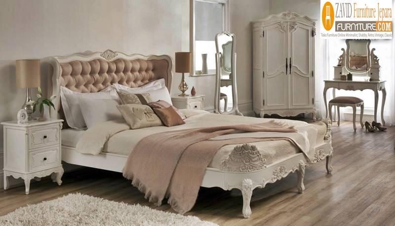 kamar-set-putih-duco Perlengkapan Kamar Set Terbaru Model Minimalis Dan Ukir Harga Murah