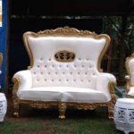 Kursi Mewah Jati Mahkota Untuk Pelaminan