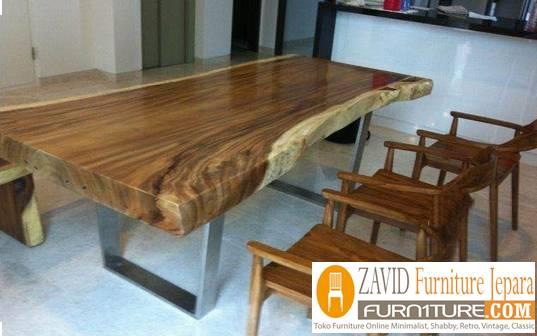 meja makan kayu trembesi terlaris 2020 - 2020 Meja Trembesi Untuk Makan Desain Paling Laris Di Indonesia