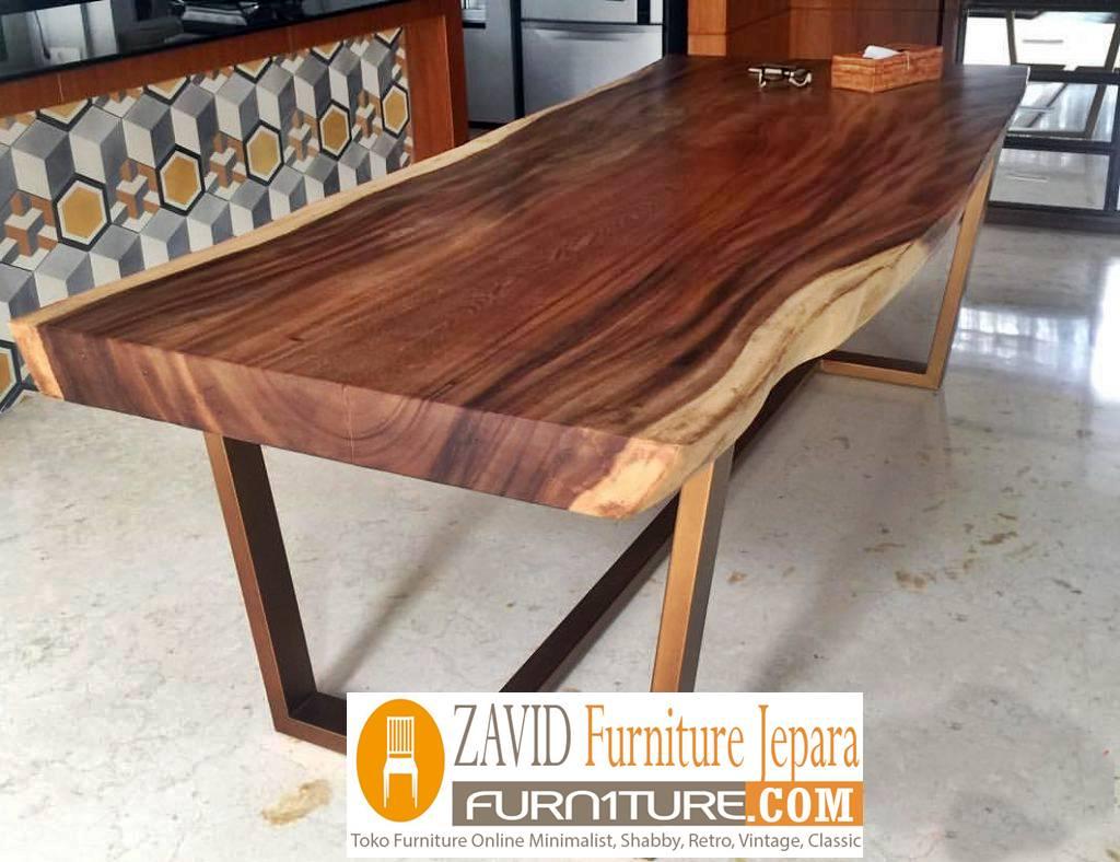 meja makan kayu trembesi terlaris - 2020 Meja Trembesi Untuk Makan Desain Paling Laris Di Indonesia