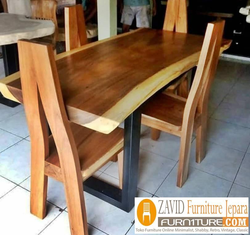 meja makan trembesi terlaris saat tahun 2020 - 2020 Meja Trembesi Untuk Makan Desain Paling Laris Di Indonesia