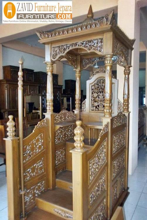 mimbar masjid mewah kubah - Jual Mimbar Kubah 2020 Paling Laris Ukiran Jati Untuk Masjid