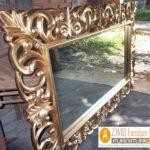 Pigura Cermin Bali Ukiran Mewah Modern