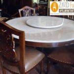 Meja Makan Marmer 8 Dan 6 Kursi Desain Modern Terlaris
