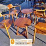 Kursi Cafe Demak Kayu Jati Minimalis