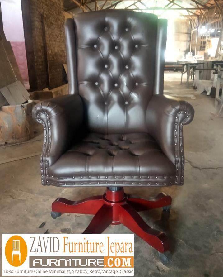 kursi-kantor-jati-warna-hitam-baru Kursi Kerja Madiun Desain Kursi Kantor Sofa Putar Baru