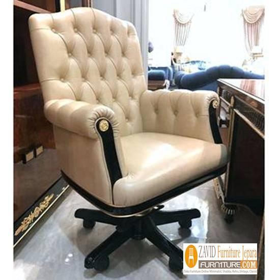 kursi kantor kayu jati sofa - Kursi Direktur Mewah Termahal