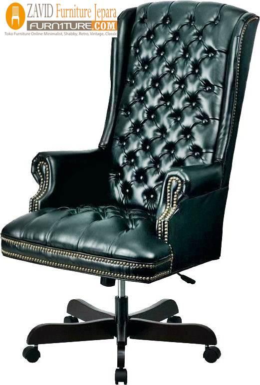 kursi kantor model sandaran tinggi - Kursi Direktur Mewah Termahal