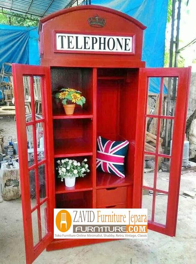 lemari-pakaian-baru-model-telephone Lemari Pakain Telephone Desain Baru Unik