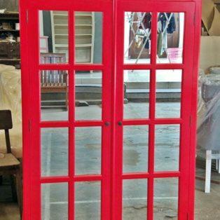 Lemari Pakain Telephone Desain Baru Unik