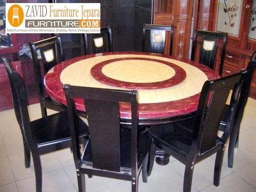meja-makan-marmer-8-orang Meja Makan Marmer 8 Dan 6 Kursi Desain Modern Terlaris