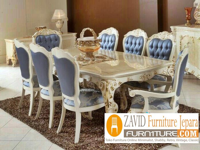 meja-makan-marmer8-kursi-mewah Meja Makan Marmer 8 Dan 6 Kursi Desain Modern Terlaris