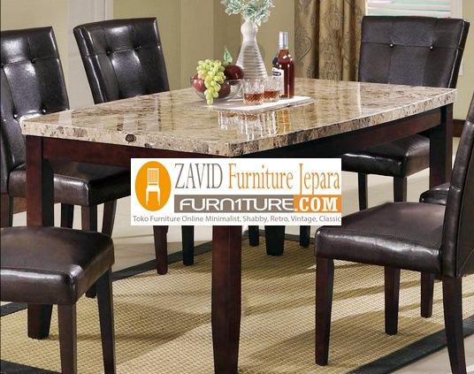 meja-makan-model-marmer-6-kursi Meja Makan Marmer 8 Dan 6 Kursi Desain Modern Terlaris