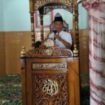 Mimbar Masjid Tegal Kubah Ukiran Kaligrafi