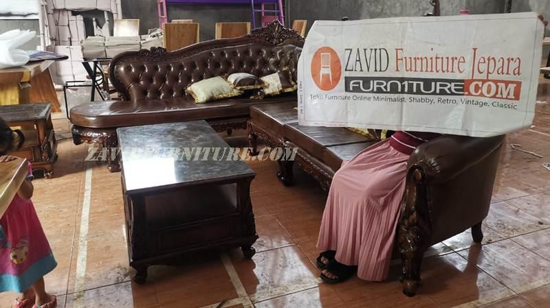 kursi-baru-kayu-jati-solid-ukir Kursi Sofa Mewah Ukir Ruang Tamu Kayu Jati Solid
