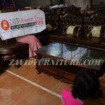 Kursi Sofa Mewah Ukir Ruang Tamu Kayu Jati Solid