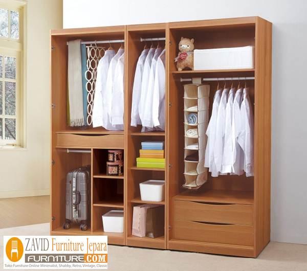 lemari-baju-gantung Model Lemari Baju Gantung Kayu Jati Desain Terlaris