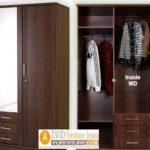 Model Lemari Baju Gantung Kayu Jati Desain Terlaris