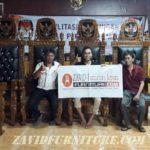 Meja Dan Kursi Pengadilan KPU Kayu Jati Solid