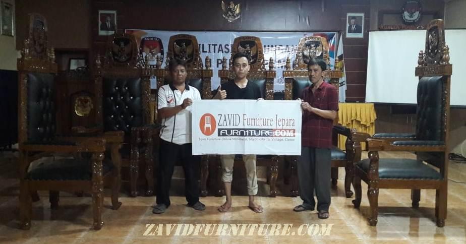 meja-dan-kursi-pengadilan Meja Dan Kursi Pengadilan KPU Kayu Jati Solid