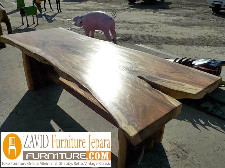 meja-kayu-trembesi-antik Meja Antik Kayu Trembesi Solid Berkualitas Untuk Makan