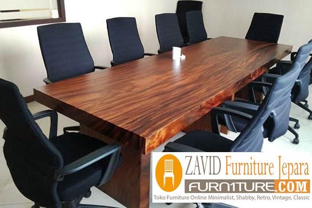 meja rapat kayu jati berkualitas - Jual Meja Meeting Atau Meja Rapat Kayu Jati Solid Terbaik