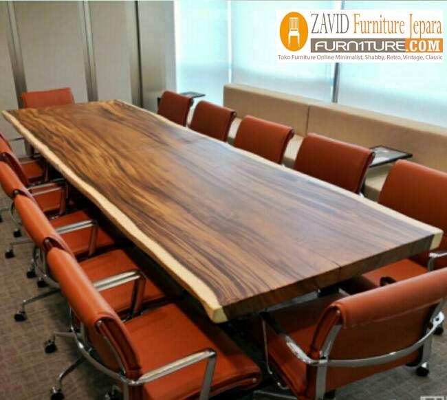 meja rapat kayu silid - Jual Meja Meeting Atau Meja Rapat Kayu Jati Solid Terbaik