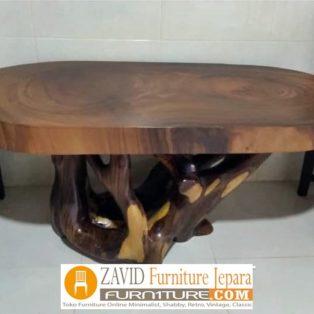 Meja Antik Kayu Trembesi Solid Berkualitas Untuk Makan