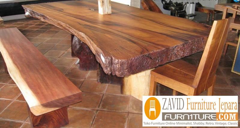 meja-trembesi-antik-kayu-solid Meja Antik Kayu Trembesi Solid Berkualitas Untuk Makan
