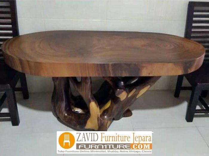 meja-trembesi-antik Meja Antik Kayu Trembesi Solid Berkualitas Untuk Makan