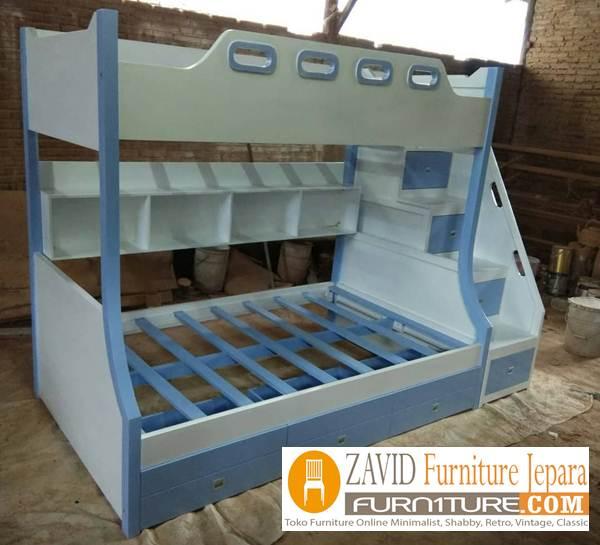 tempat tidur anak tingkat - Jual Tempat Tidur Tingkat Ciledug Dari Pengrajin Jepara