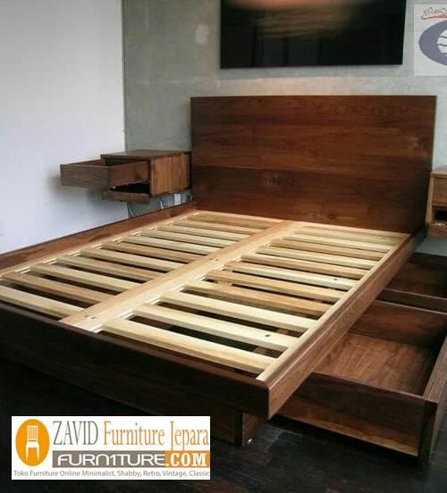 tempat tidur laci minimalis jogjakarta - Tempat Tidur Laci Jogjakarta Desain Terlaris Incaran Konsumen
