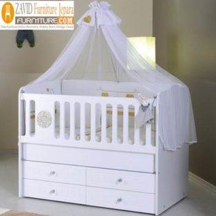 Box Bayi Kelambu Kayu Minimalis