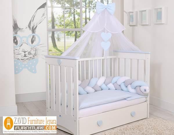 box bayi minimalis berkelambu - Box Bayi Kelambu Kayu Minimalis