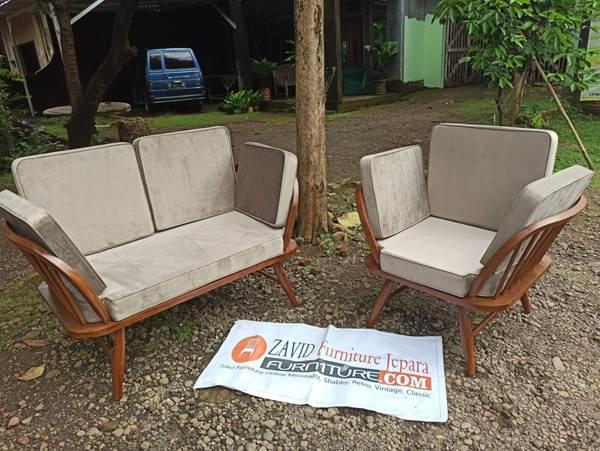 kursi sofa minimalis - Jual Kursi Sofa Modern Rangka Kayu Jati Terbaik Harga Murah