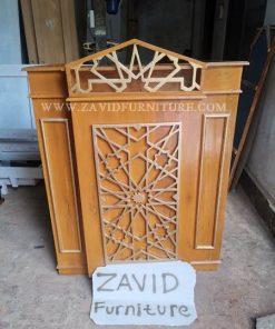 mimbar masjid jakarta minimalis