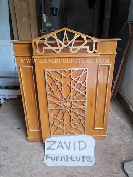 mimbar masjid sederhana - Jual Mimbar Masjid Di Jakarta Terbaru Dari Furniture Zavid