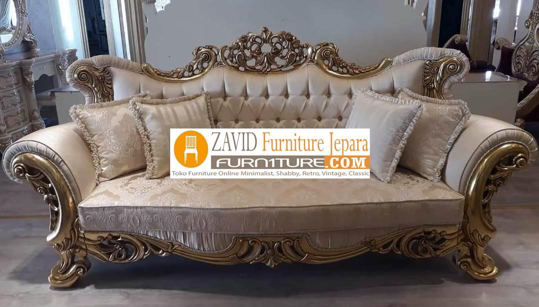kursi sofa baru desain ukir mewah - Galleries