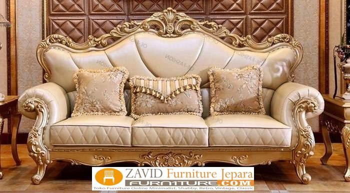kursi sofa desain ukir mewah - Galleries