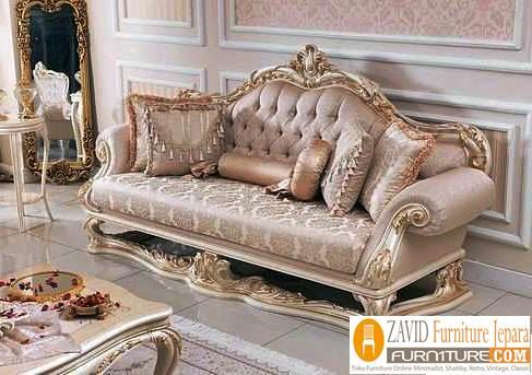kursi sofa ukir mewah desain modern - Galleries