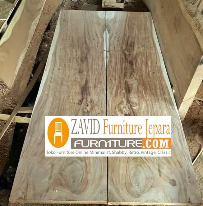 pintu rumah kayu trembesi baru modern - Pintu Kayu Trembesi Modern Alami