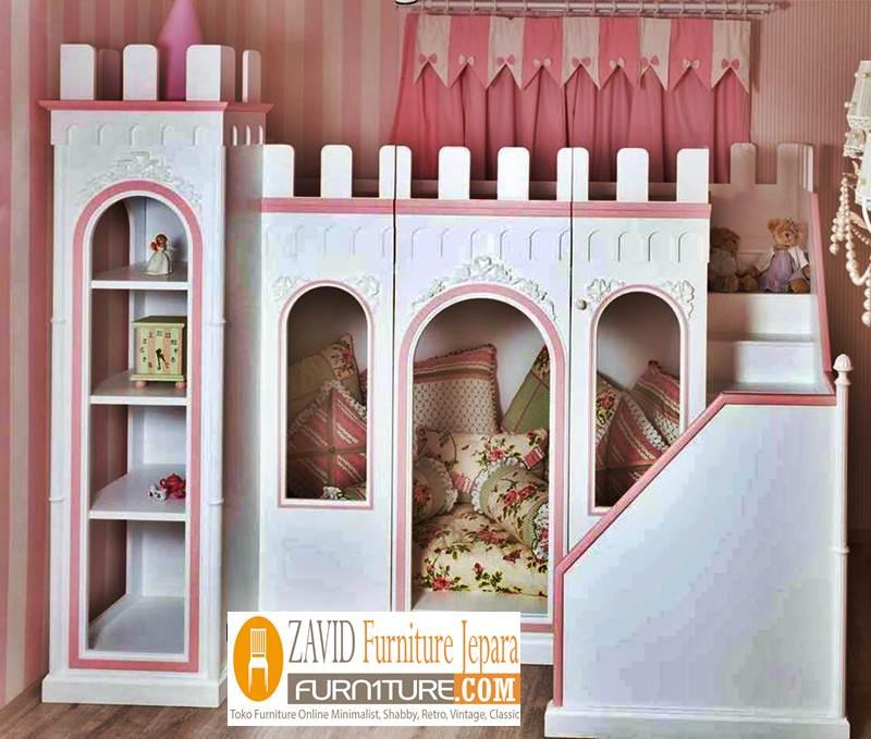 tempat tidur anak istana - Tempat Tidur Anak Istana Desain Mewah Modern