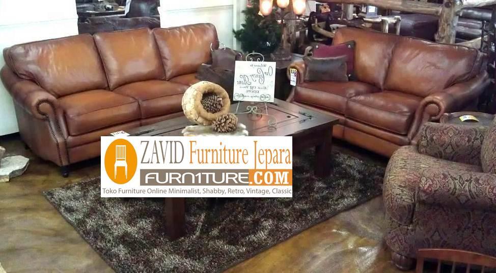 kursi sofa kulit asli baru modern - Kursi Sofa Kulit Asli Mewah Klasik Terbaru