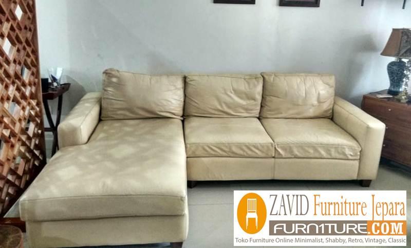 kursi sofa kulit asli baru - Kursi Sofa Kulit Asli Mewah Klasik Terbaru