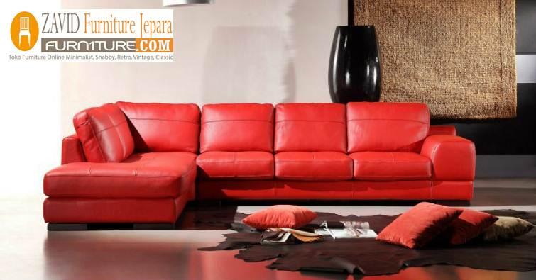 kursi sofa kulit asli berukualitas - Kursi Sofa Kulit Asli Mewah Klasik Terbaru