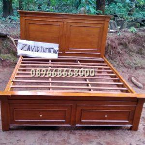 tempat tidur laci jati minimalis 300x300 - Toko Furniture Jepara | Spesialis Mebel Jepara Online Kota Ukir